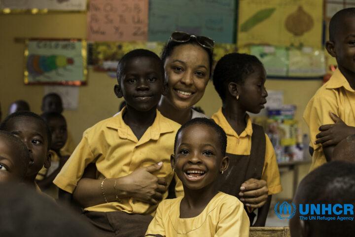 UNHCR appoints Nikki Samonas and Kwame Annom as Goodwill Ambassadors