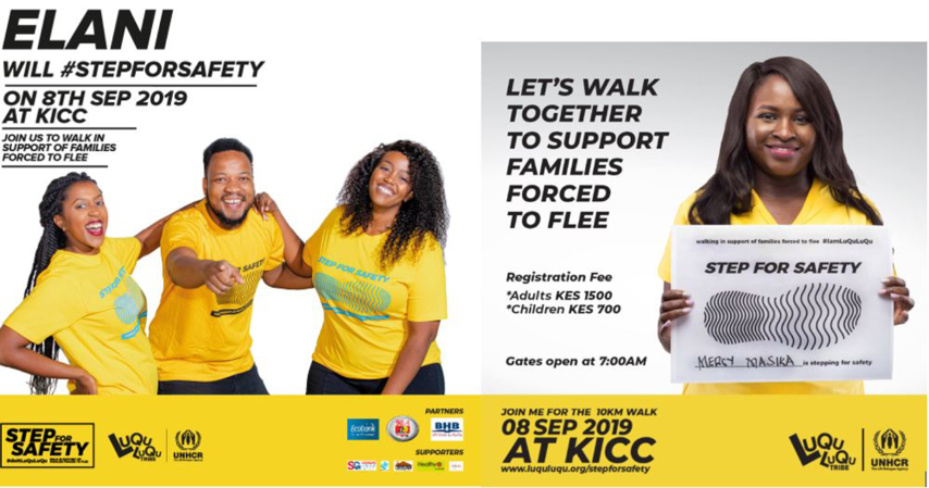 Mercy Masika, Elani and Avril to Perform at the LuQuLuQu Step for Safety Event to Rally Support for Refugees