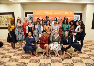 Women's Business Network For UNHCR Launched In Johannesburg, South Africa On International Day Of The Girl Child