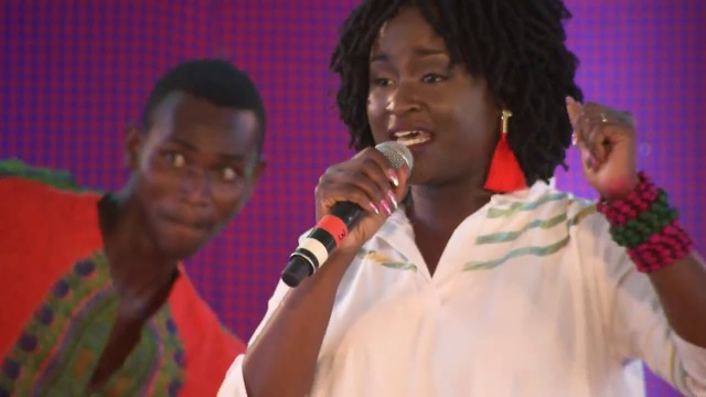 LuQuLuQu High Profile Supporter Mercy Masika performs at TEDxKakumaCamp